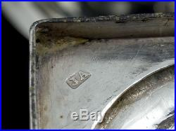 1822 George IV Set of 4 Sterling Silver Salt Cellars