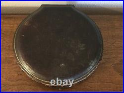 1885 Sheffield Salt Cellar Set, 6 with Spoons, Cobalt Glass Inserts, Orig. Case