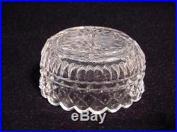 18th. C GEORGE III Sterling Silver & Crystal SALT CELLAR