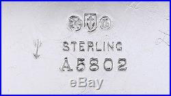 1909 NICE PAIR GORHAM STERLING SILVER OPEN SALT CELLARS withSPOONS