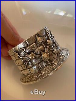 2 Figural Gorham Sterling Silver Wishing Well Ivy Master Salts Box Condimnt Dish
