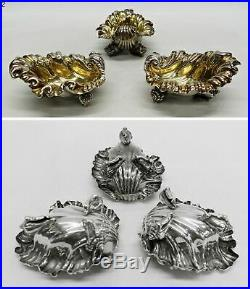 9083 Antique Silver Salt Cellars by Paul Storr