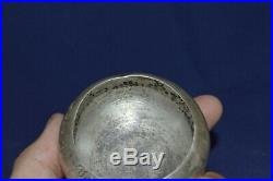 ANTIQUE Faberge design 19 century! Silver IMPERIAL RUSSIAN 84 Salt cellar Bowl