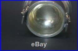 Antique 2 19thc American Coin Silver Wood & Hughes Medallion Open Salts Cellar
