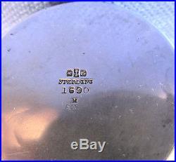 Antique Gorham Sterling Silver Bucket Motif Master Salt Cellar 1880