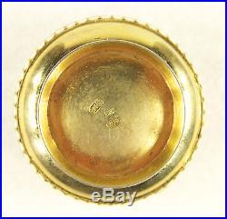 Antique Russian 84 Silver Enamel Salt Cellar