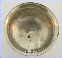 Antique Russian Dated 1885 Silver Salt Cellar