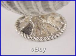 Antique Tiffany & Co. John C. Moore Sterling Silver Clam Shell Salt Cellar 1853
