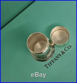Antique Tiffany & Co. Traveler's Salt Shaker/Cellar Made into a pillbox
