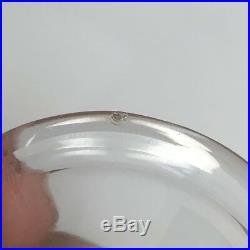 Antique Wilhelm Binder WTB 800 Silver Glass Insert Salt Cellars