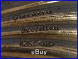 Buccellati Sterling Silver Salt Cellar Clam Shell 1 7/8 X 1 7/8 (#1247)