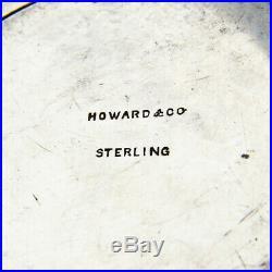 Bucket Form Open Salt Howard Co Sterling Silver Mono