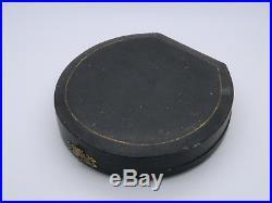 Cased Set of 4 Edwardian Solid Silver Shell Salt Cellars & Spoon 1908 Birmingham