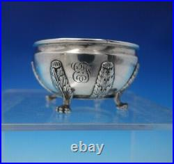 Chrysanthemum by Tiffany and Co Sterling Silver Master Salt Dip #9942 (#4962)