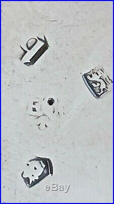 - Edward Wood English Georgian Salt Cellar London 1737 Period Crest