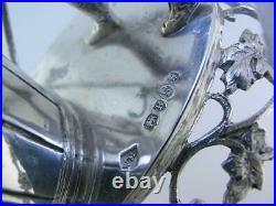English Sterling Silver figural Salt Cellar Dish WILLIAM MOERING London c1892