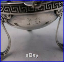 Etruscan by Tiffany and Co Sterling Silver Master Salt Dip GW Lion Feet (#4352)