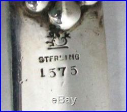 Fantastic 1895 Black Starr & Frost / Redlich Sterling Silver 13 Paper Knife