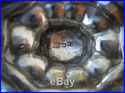 Fantastic Antique Imperial Russian Silver (84) gold washed salt cellar. 1847