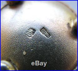 Fine Imperial Russian Silver-Gilt Enamel Salt Cellar, No Reserve