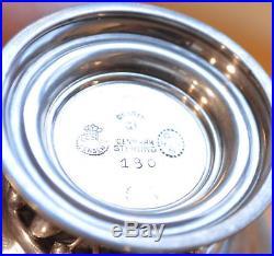 GEORGE JENSEN c. 1925-32 Hammered Sterling Silver SALT BOWLS 180 4268