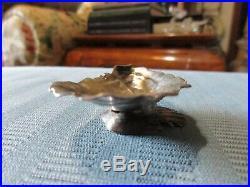 GORHAM SHELL Salt Cellar 1889 NARRAGANSETT Style AESTHETIC STERLING SILVER. 925