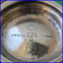 Georg Jensen Sterling Silver Salt Cellar 235D (J12)