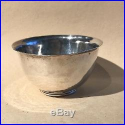 George Gebelein Arts and Crafts Hammered Sterling Silver Bowl 4
