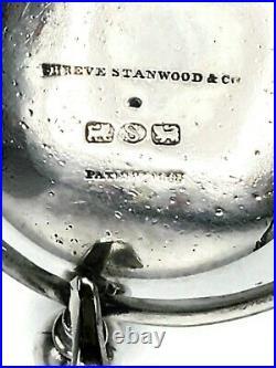 George Sharp Coin Silver Salt Cellars for Shreve, Stanwood & Co, a Pair