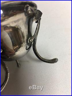 Gorham 110 Coin Silver Cornucopia Footed Salt Dip Cellars 1852-1865