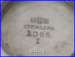 Gorham 1876 Sterling Silver Putti Condiment / Salt Dishes #1385
