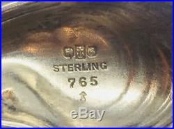 Gorham Antique Sterling Silver Narragansett Shell Large Master Salt Cellar
