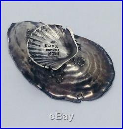 Gorham Antique Sterling Silver Narragansett Shell Salt Cellar