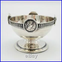 Gorham Coin Silver Medallion Open Salt c. 1865