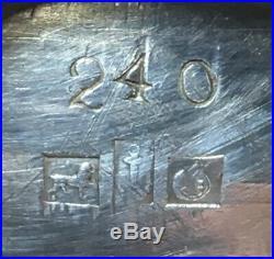Gorham Coin Sterling Silver Open Salt Cellar Figural Birds 1860s