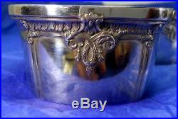 Great Set of Six International Trianon Pattern Sterling Silver Open Salt Cellars