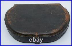 Old Mappin & Webb Blue cobalt Sterling Salt cellar Pepper Set Presentation Box