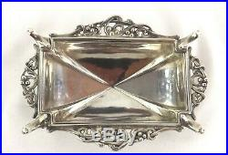 Omar Ramsden Sterling Silver Salt Cellar Dish Arts & Crafts London 1931