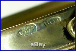 Pair Of Vintage Continental Silver 6 3/4 Figural Salt/pepper Cellars-fantastic