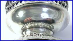 Pair of George III Sterling Silver Master Salt Cellars & Liners c1773