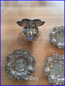 Rare And Extremely Hard To Find Francis 1st Master Salt! And 3 Salt Cellars