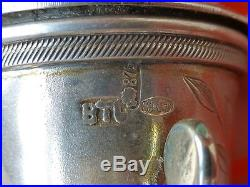 RARE Antique Russian Imperial 84 Silver Sterling miniature Samovar