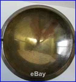 Rare 1860s GORHAM COIN SILVER EGYPTIAN REVIVAL SPHINX PEDESTAL SALT CELLAR