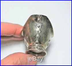 Rare 1956-64 William Spratling Taxco Mexico 925 Sterling Silver Salt Cellar Bowl