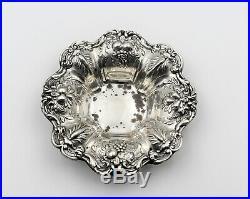Reed & Barton Francis I X569 Sterling Silver Bon Bon Nut Dish Salt Cellar Set