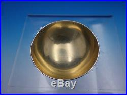 Reeded Edge By Tiffany Sterling Silver Salt Dip Dish Cellar #17668 1197 (#4594)