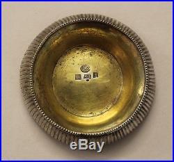 Russia Imperial Salt Cellar Bowl 62,3 gr Silver 84´ N. Kuznetsov Tula 1851