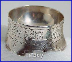 Russian 84 silver Ovchinnikov SALT CELLAR