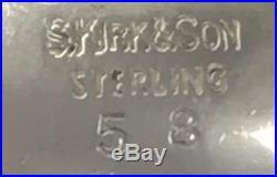S. Kirk & Sons Sterling Silver Open Salt Cellars