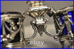 Saleron Saliere Ancien Argent Massif Antique Solid Silver Salt Cellar